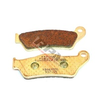 2010 - 2012 Husqvarna TE630 set of Ferodo front brake pads Sintergrip HH