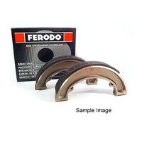 Ferodo Eco Friction Brake Shoe Set for 1997-2005 Yamaha DT175 - FSB733A