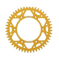 Kawasaki KX65 2000 - 2001 Supersprox rear sprocket, alloy gold, 46t