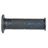 ARIETE MOTORCYCLE HAND GRIPS - ROAD - ESTORIL - BLACK BLUE