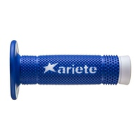 ARIETE HAND GRIPS - VULCAN - OFF ROAD - BLUE / WHITE