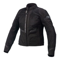 Macna Event ladies Black motorbike motorcycle lightweight safety apparel jacket