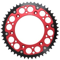 Honda SL250 2000 - 2003 States MX fusion hybrid rear sprocket, red, 49t
