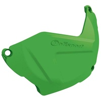Polisport plastic clutch cover protector green for 2019 - 2020 Kawasaki KX250