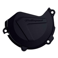 Polisport plastic clutch cover protector black for 2017 - 2020 Husqvarna FX450