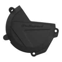 Polisport plastic clutch cover protector black for 2019 - 2020 Husqvarna FE250