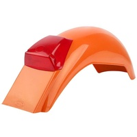 Polisport Preston Petty 'IT' Rear Fender - Pumpkin Orange