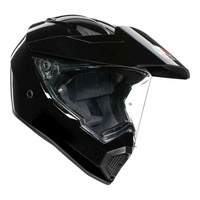 AGV AX9 black motorcycle off road dirt MX adventure touring dual helmet