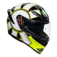 AGV K-1 Rossi Gothic 46 motorcycle road race full face helmet