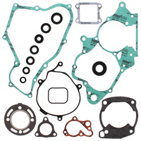 Vertex Complete Gasket Set with Oil Seals - 1986-1991 Honda CR80R 86-91
