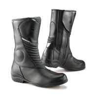 TCX Lady Aura Plus waterproof leather womens black motorcycle boots road touring