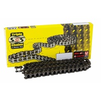 Triple S 428 standard motorcycle chain 100 links dirt off road mx