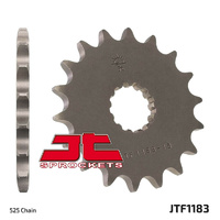 JT steel front sprocket 18t for 2006 - 2017 Triumph 865 Bonneville T100