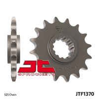 JT steel front sprocket 16t for 1999 - 2016 Honda CBR600