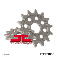 JT steel front sprocket 14t for 2005 - 2020 Yamaha YZ125
