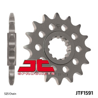 JT steel front sprocket 16t for 2014 - 2018 Yamaha MT-07 MT07