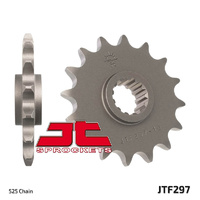 JT steel front sprocket 15t for 1994 - 1996 Honda RVF400 NC35
