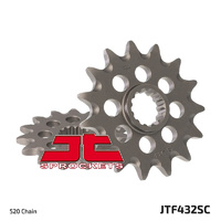 JT steel front sprocket 14t for 1990 - 1993 Suzuki DR350S