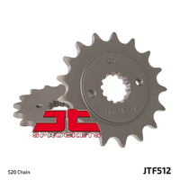 JT steel front sprocket 17t for 1984 - 1992 Kawasaki GPZ550