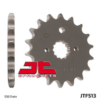 JT steel front sprocket 16t for 2005 - 2006 Suzuki GSF650 Bandit