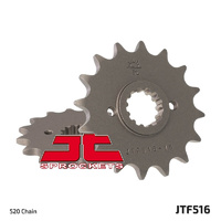 JT steel front sprocket 16t for 1990 - 1992 Kawasaki KR-1S KR1S KR250