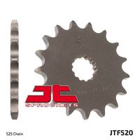 JT steel front sprocket 14t for 1999 - 2013 Suzuki SV650 and SV650S