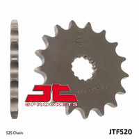 JT steel front sprocket 15t for 2015 - 2018 Suzuki GSX-S750 GSXS750