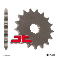 JT steel front sprocket 17t for 1998 - 2016 Suzuki GSX-R750 GSXR750