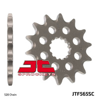 JT steel front sprocket for 2003 - 2007 Kawasaki KLX300R 14t