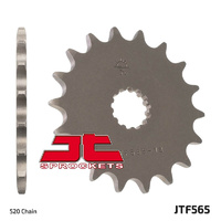 JT steel front sprocket 15t for 2009 - 2016 Suzuki SFV650 Gladius