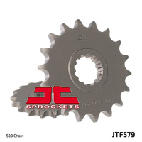 JT steel front sprocket 16t for 1999 - 2017 Yamaha XJR1300