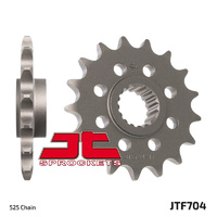 JT steel front sprocket for 2013 - 2018 BMW F700GS 17t