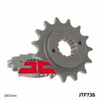 JT STEEL FRONT SPROCKET FOR 1994 - 1999 DUCATI 600SS, 15t