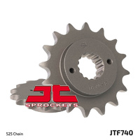 JT steel front sprocket 15t for 2002 - 2005 Ducati 996 ST4S