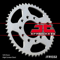 JT steel rear sprocket 40t for 1985 - 1986 Honda XBR500F