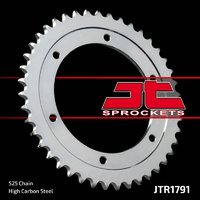 JT steel rear sprocket 41t for 1996 - 2016 Suzuki DR650SE