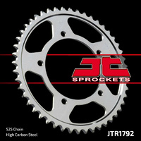 JT steel rear sprocket 43t for 2002 - 2006 Triumph Bonneville T100 800