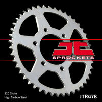 JT steel rear sprocket 45t for 2005 - 2017 Kawasaki ZX-6R ZX6R