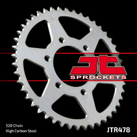 JT steel rear sprocket 46t for 2015 - 2019 Kawasaki EN650 Vulcan
