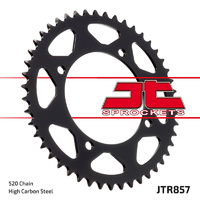 1983 - 1984 Yamaha XT400 JT steel rear sprocket, 43t