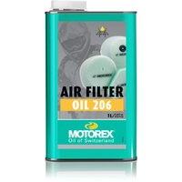 Motorex air filter oil 206, 1L