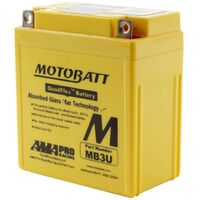 MB3U Motobatt Quadflex 12V Battery