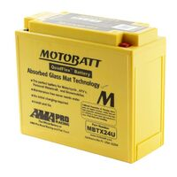 MBTX24U Motobatt Quadflex 12V Battery