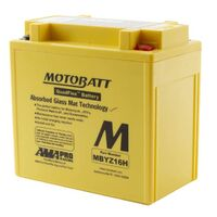 MBYZ16H Motobatt Quadflex 12V Battery