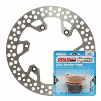 Brake Rotor & Pad Rear Kit - Yamaha YZ450F 2003 - 2017