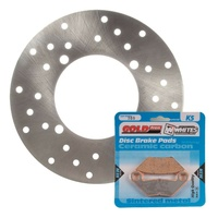 Brake Rotor & Pad Rear Kit - Polaris SPORTSMAN 570 UTE 2015
