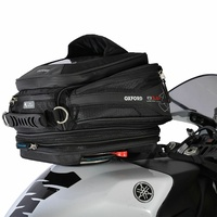 OXFORD Q15R Quick Release Motorbike Motorcycle Tank Bag - Black 15L