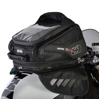 Oxford M30R Sculpted Magnetic Motorbike Tail Pack Bag - Black