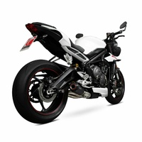 Scorpion Exhaust Slip On Carbon Exhaust Triumph Street Triple R 17-18 675 / 18-21 765